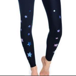 Ultracor Black/Nero Holographic Stars Legging Med